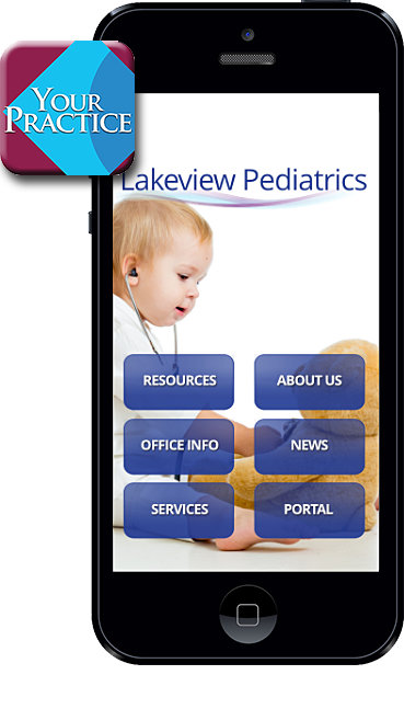 Lakeview Pediatrics Mobile App